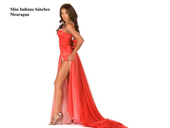 Miss Indiana Sánchez