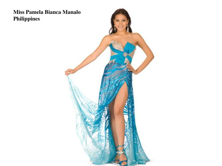 Miss Pamela Bianca Manalo