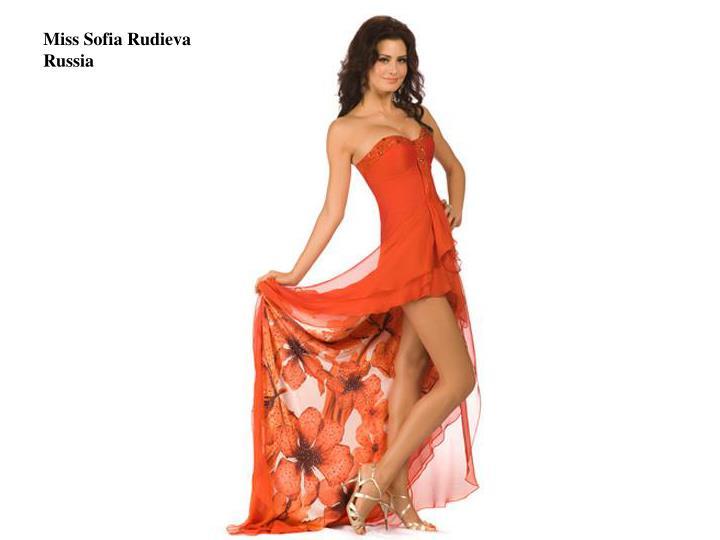 Miss Sofia Rudieva