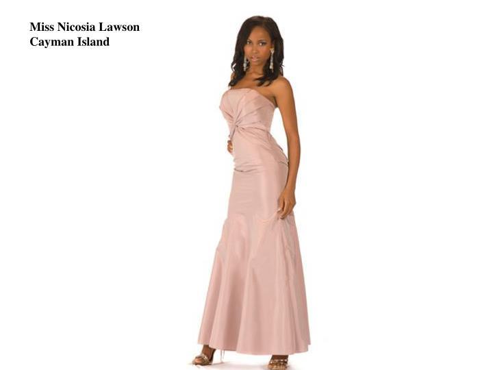 Miss Nicosia Lawson