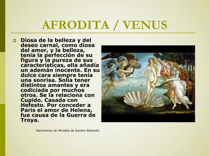 AFRODITA / VENUS
