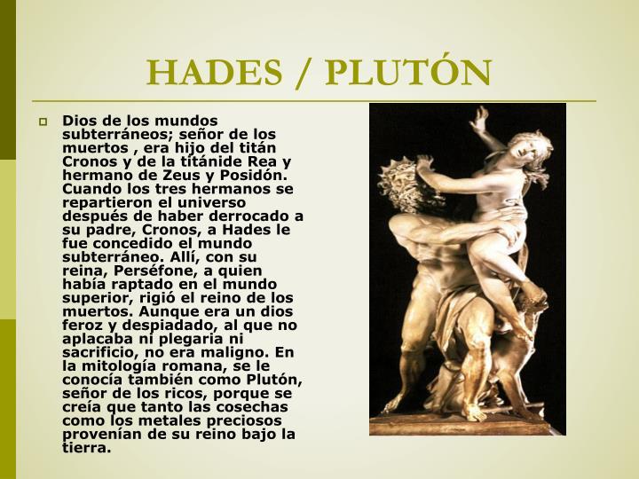 HADES / PLUTÓN