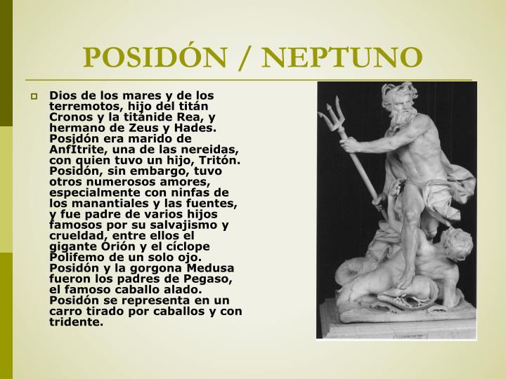 POSIDÓN / NEPTUNO