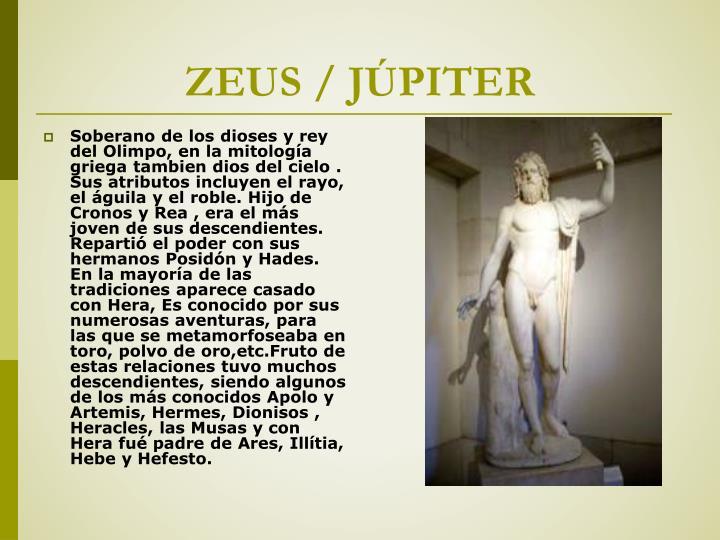 ZEUS / JÚPITER