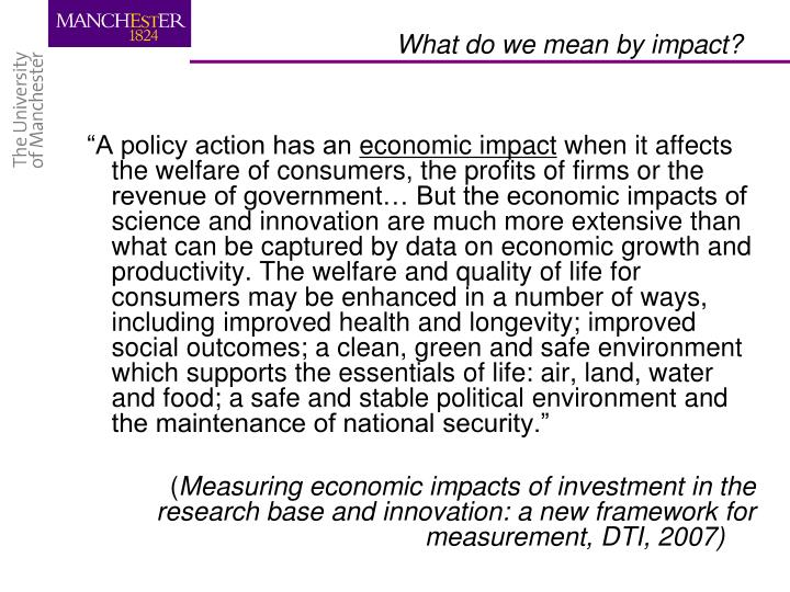 """""""A policy action has an"""