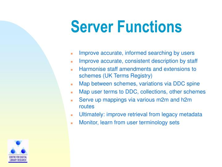 Server Functions