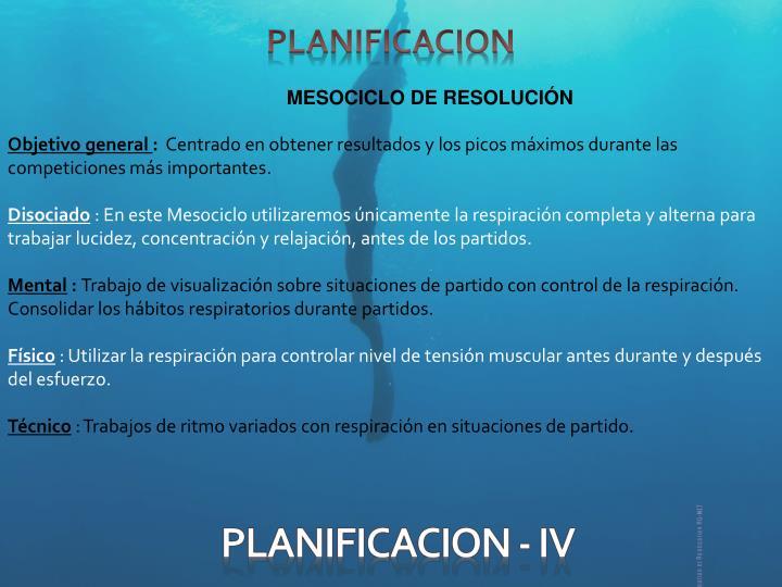 PLANIFICACION