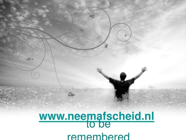 www.neemafscheid.nl