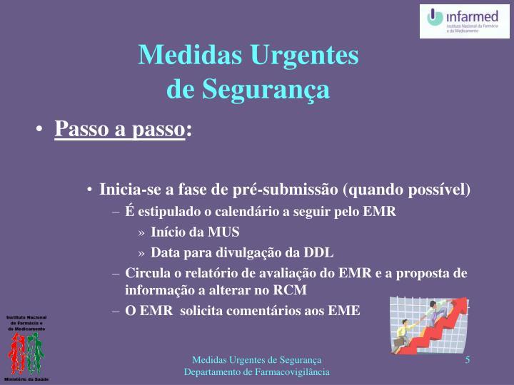 Medidas Urgentes