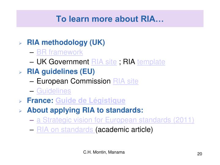 To learn more about RIA…