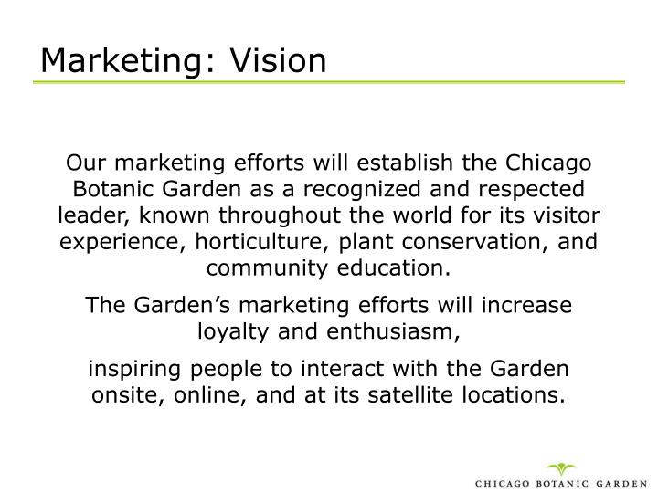 Marketing: Vision