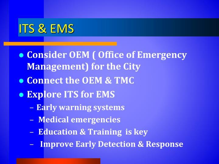 ITS & EMS