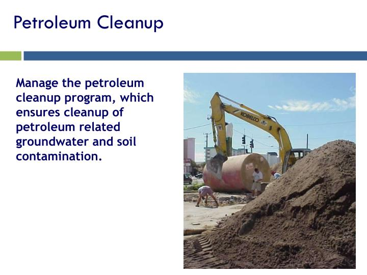 Petroleum Cleanup