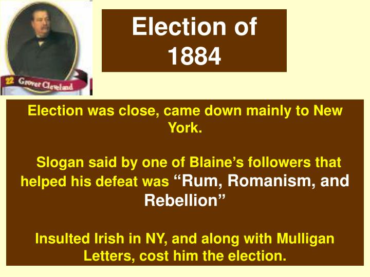 Election of 1884