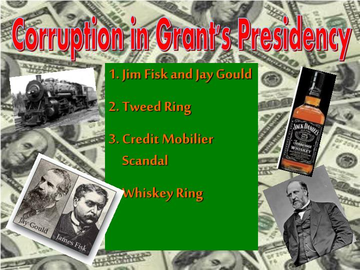 Corruption in Grant's Presidency
