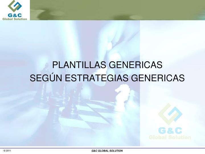 PLANTILLAS GENERICAS
