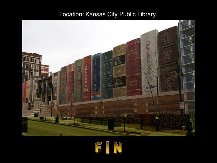 Location: Kansas City Public Library.