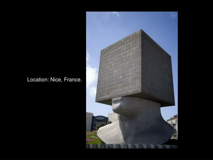 Location: Nice, France.