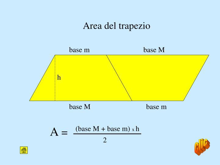 Area del trapezio