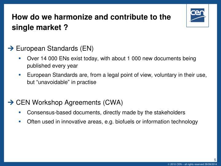 European Standards (EN)