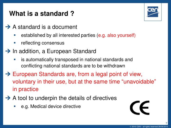 What is a standard ?