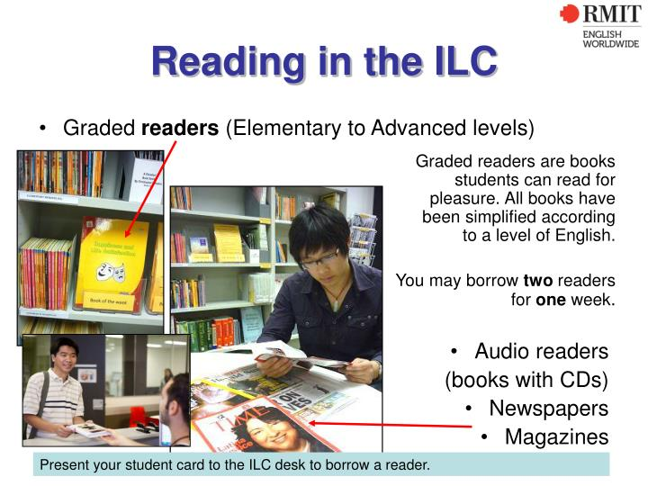 Reading in the ILC