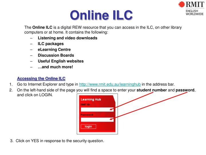 Online ILC