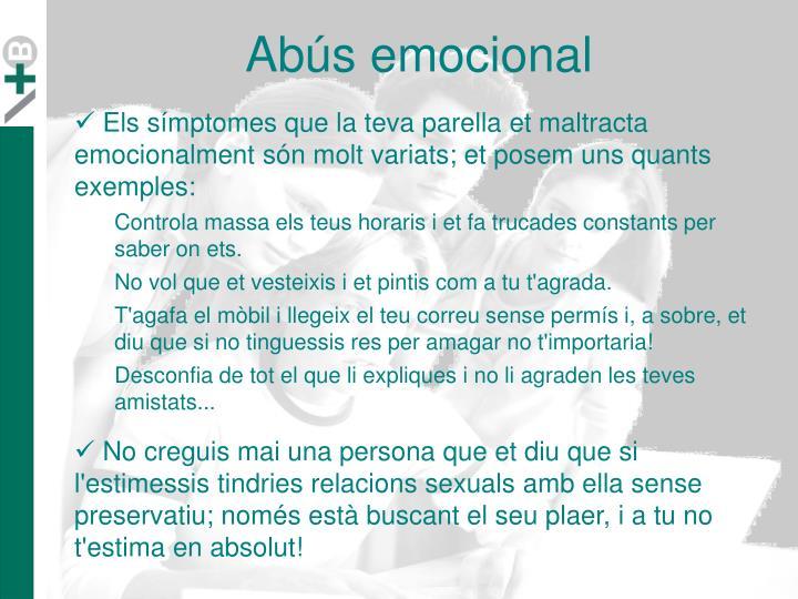 Abús emocional