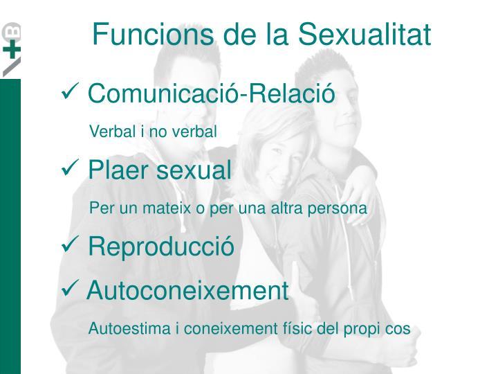 Funcions de la Sexualitat
