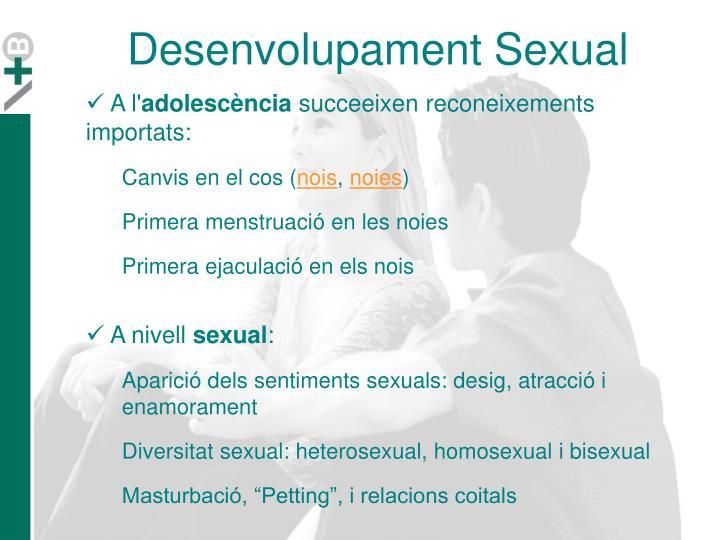 Desenvolupament Sexual
