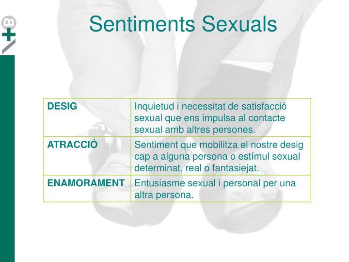 Sentiments Sexuals