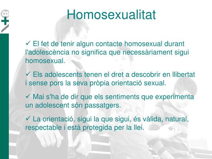 Homosexualitat