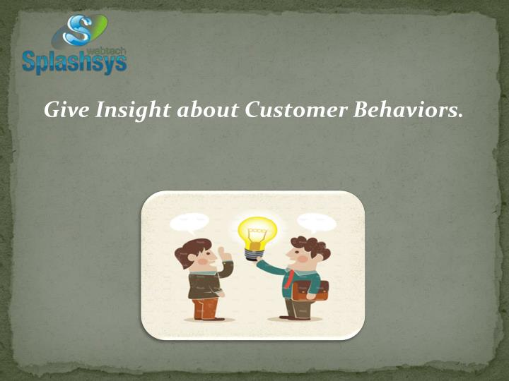 Give Insight about
