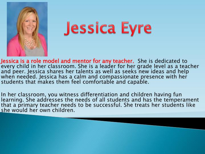 Jessica Eyre