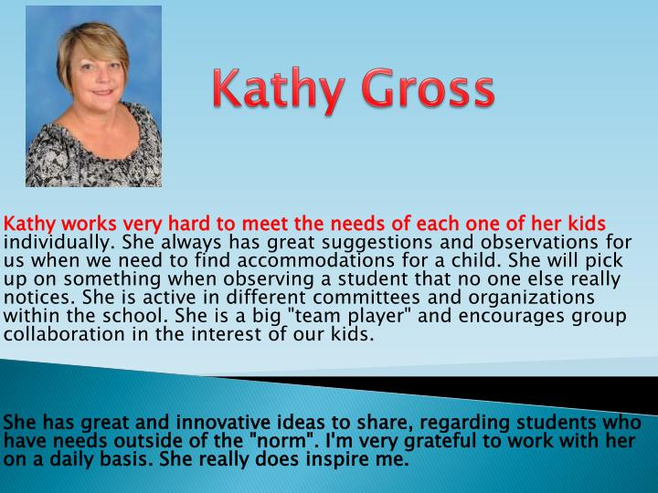 Kathy Gross