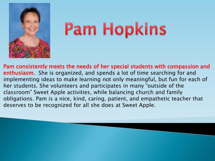 Pam Hopkins