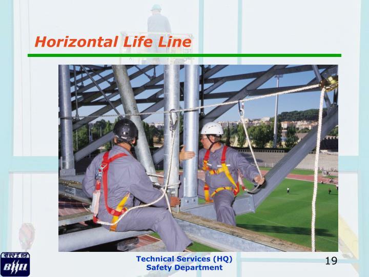 Horizontal Life Line