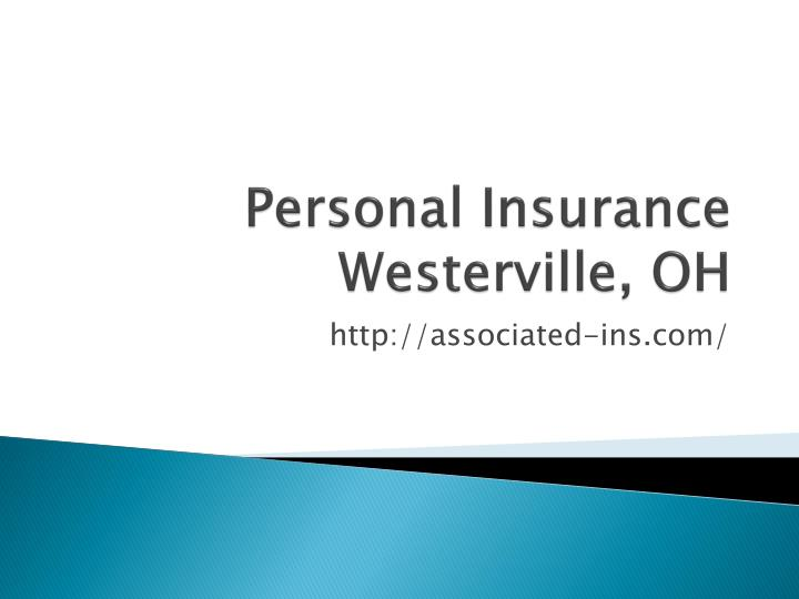 Personal insurance westerville oh