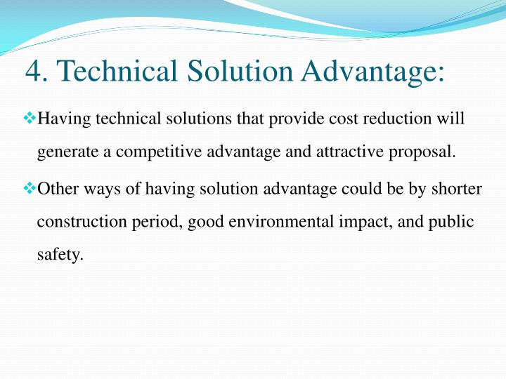 4. Technical Solution Advantage: