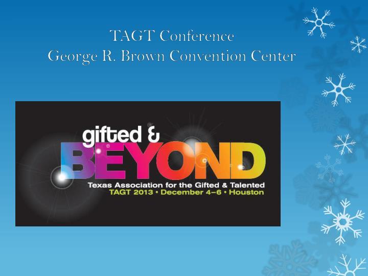 TAGT Conference