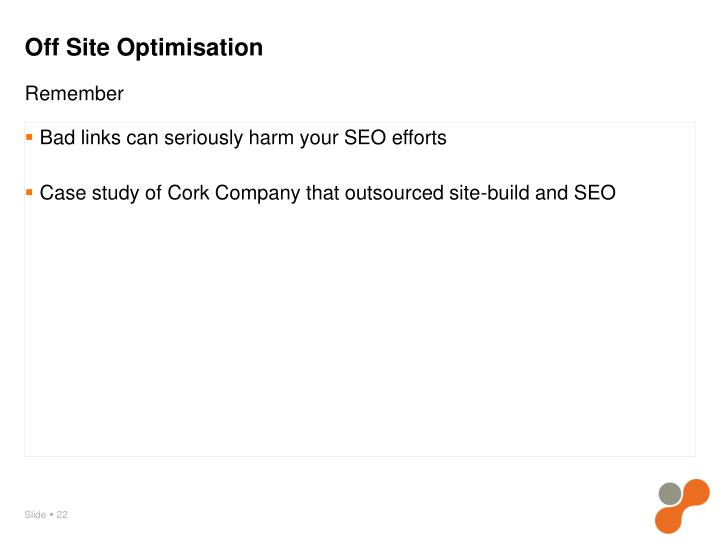 Bad links can seriously harm your SEO efforts