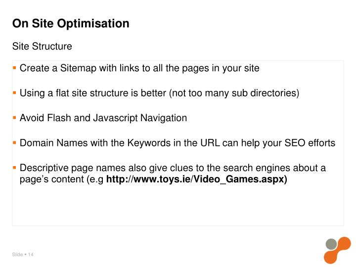 Create a Sitemap with links to all the pages in your site