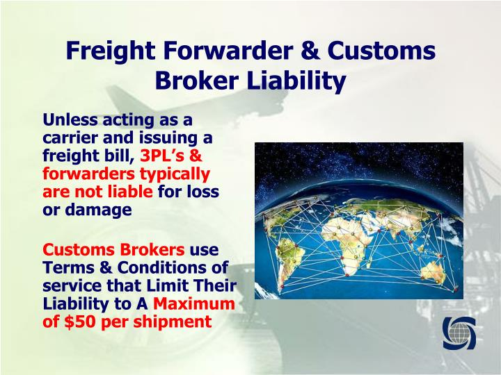 freight forwarders as principal or agent Customer: is the freight forwarder's principal at the instructions of whom and  1 ) as a forwarding agent under belgian law (commissionnaire -- expéditeur): his.