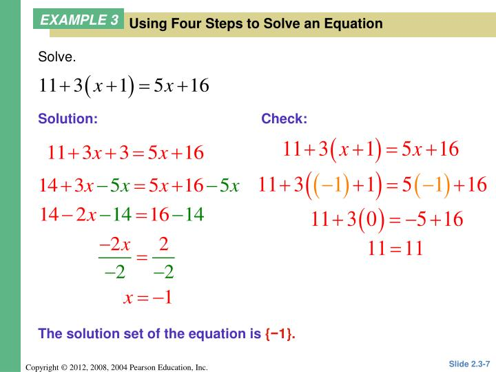 Solve.