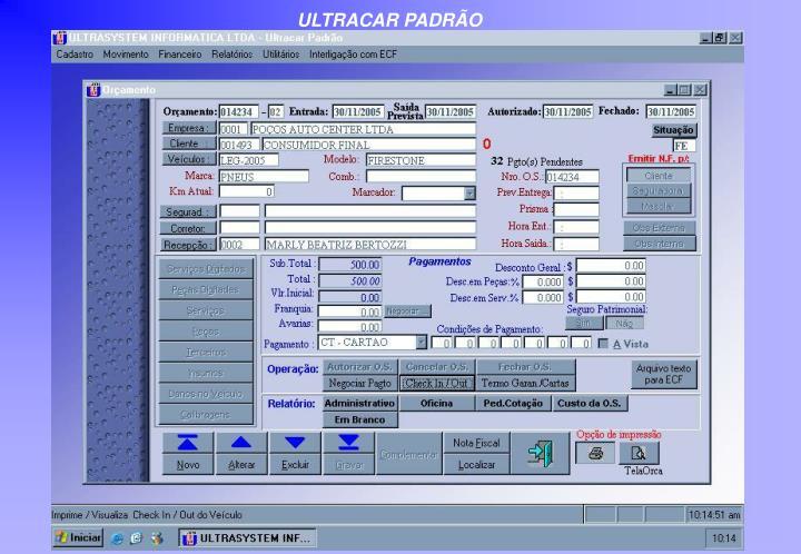 ULTRACAR PADRÃO