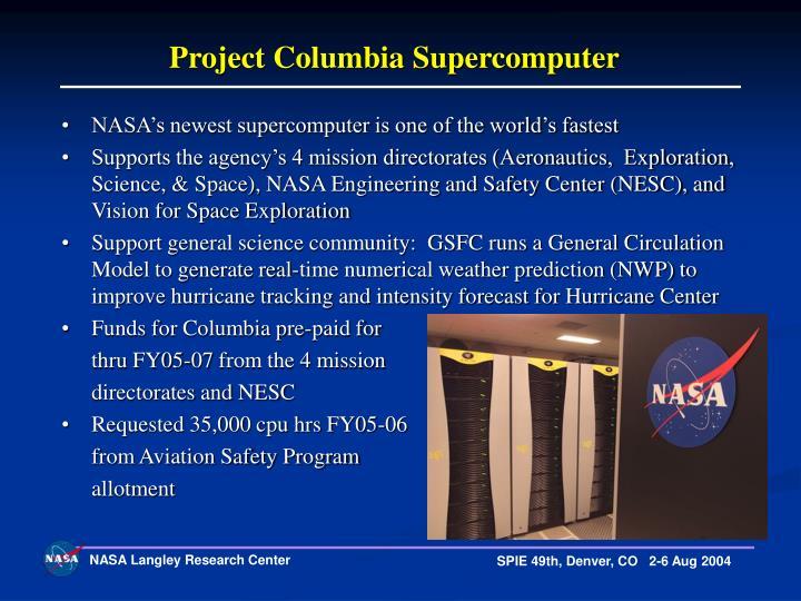 Project Columbia Supercomputer