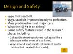 design and safety