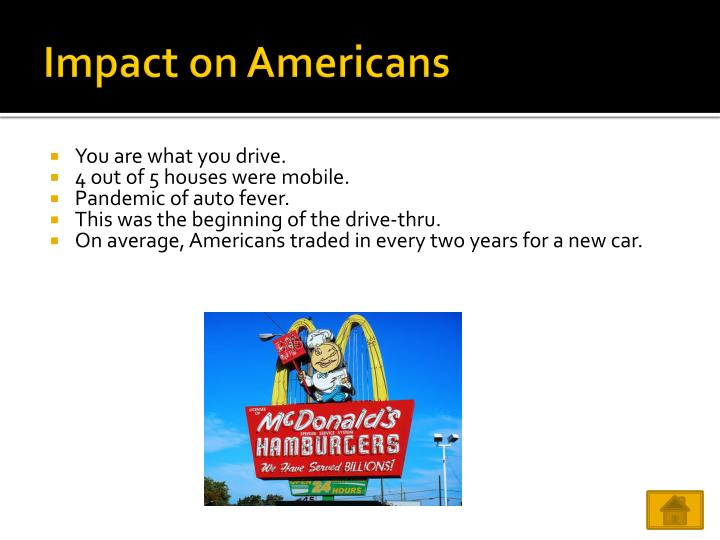 Impact on Americans