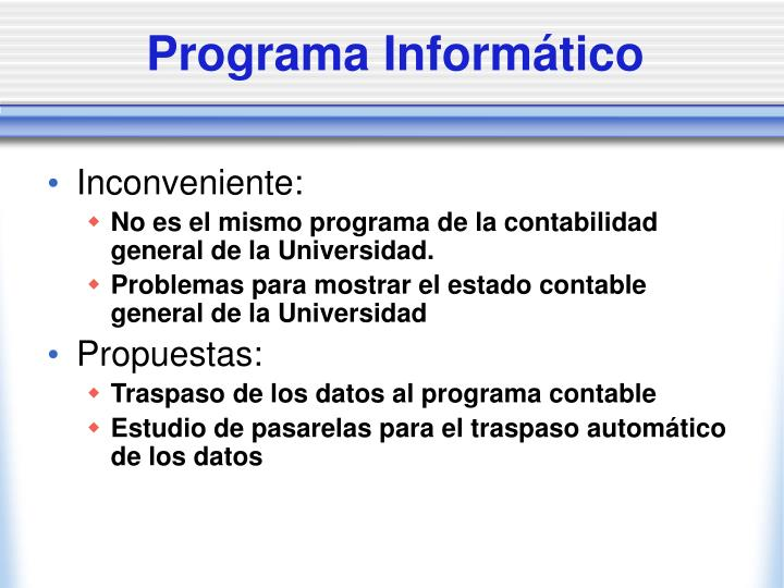 Programa Informático