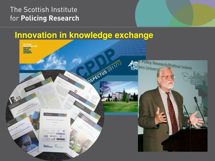 Innovation in knowledge exchange